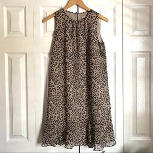 LOFT Animal Print Dress